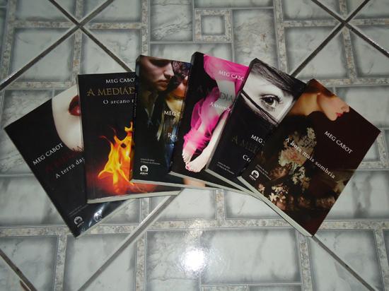 Série A Mediadora (Meg Cabot) | Foto: viajenaleitura.com.br