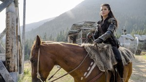 "The 100 -- ""Wanheda: Part One"" -- Image HU301D_0036 -- Pictured: Marie Avgeropoulos as Octavia -- Credit: Cate Cameron/The CW -- © 2015 The CW Network, LLC. All Rights Reserved"